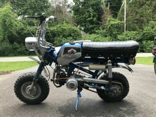 1971 Benelli Hurricane 65 Blue for sale craigslist